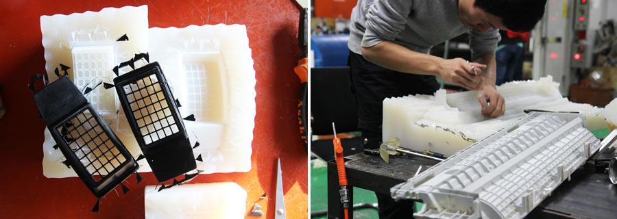 vacuum casting prototype